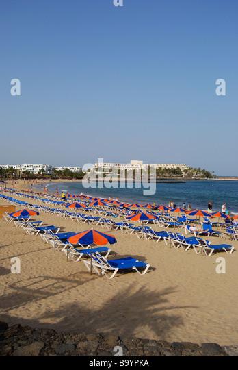 Sands Beach Lanzarote Distance From Resort Costa Teguise