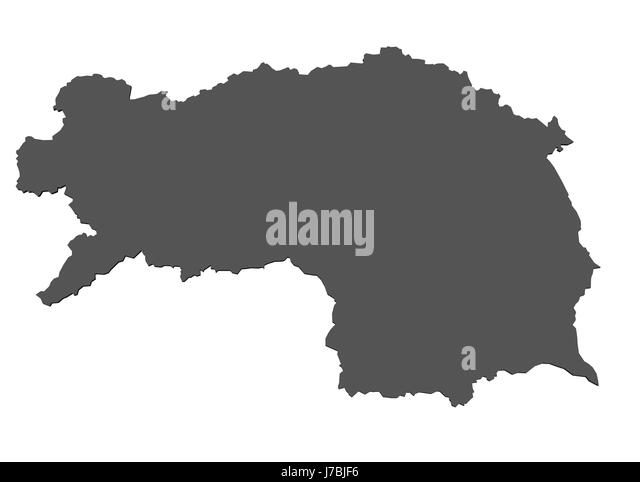 Styria Austria Europe Map Stock Photos Styria Austria Europe Map - Austria europe map