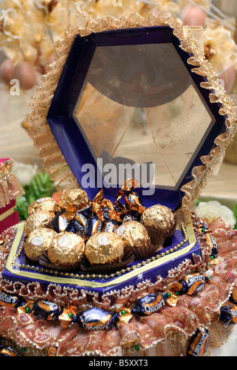 Wedding Gift Ideas For Bride Malaysia : Gift for the newly wed in a Malay wedding in Malaysia.Stock Image