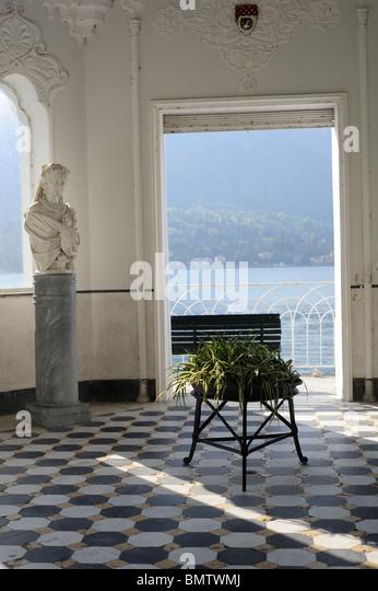 Italian villa interior stock photos italian villa for Italian villa interior