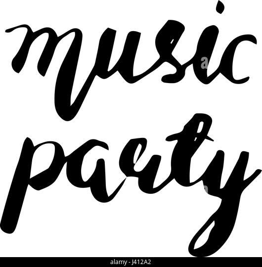 Word Music Stock Vector Images Alamy