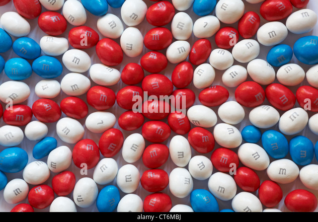 Red, White & Blue colored M&M'S Milk Chocolate Candies Perfect for patriotic themed parties, 4th of July, BBQs, and more! Share the patriotic spirt with friends, family and the office.