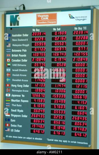 Exchange Tourist Rate Rates Money Stock Photos Amp Exchange Tourist Rate Rates Money Stock Images