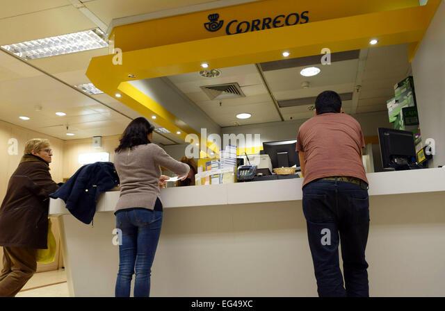 Correos canary islands stock photos correos canary for Oficina de correos las palmas de gran canaria