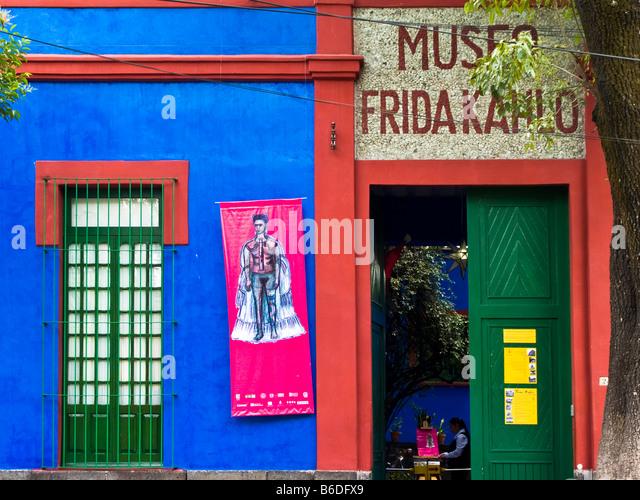 Museo Frida Kahlo Stock Photos Amp Museo Frida Kahlo Stock