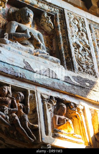 Ajanta caves india stock photos ajanta caves india stock for Ajanta indian cuisine