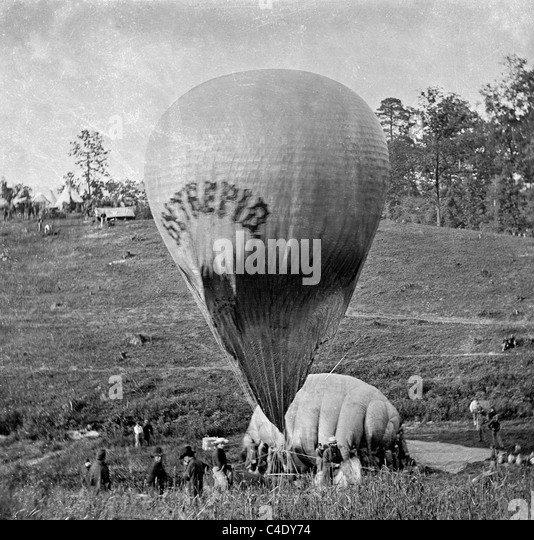 Civil War Hot Air Balloons
