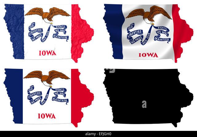 Iowa Maps Map Of Iowa ISP District Map Location Iowa Ipl Stately - Iowa in us map