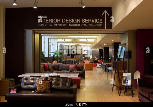 Heals Furniture Shop Store Stock Photos  | heals furniture store
