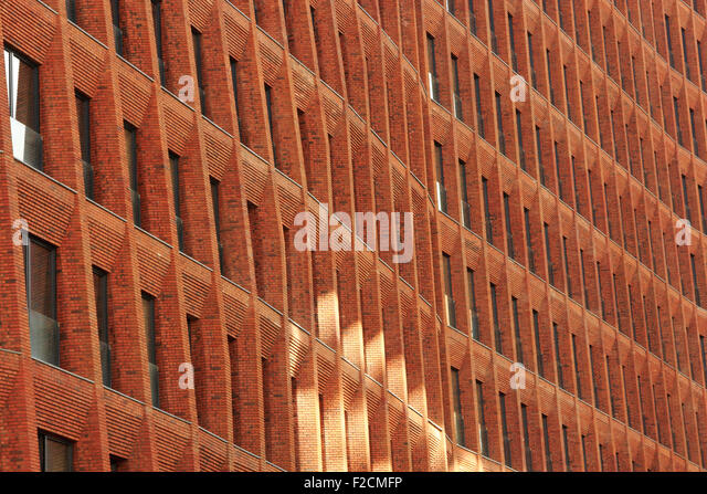 Brick veneer stock photos brick veneer stock images alamy for Modern brick veneer
