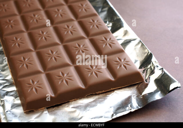 Chocolate Bar Wrapper Stock Photos & Chocolate Bar Wrapper Stock ...