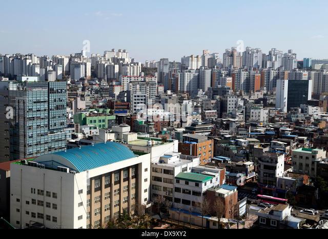 Seoul Skyline 2014