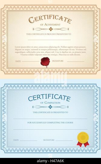 share certificate template australia - certificate border certificate template vector stock