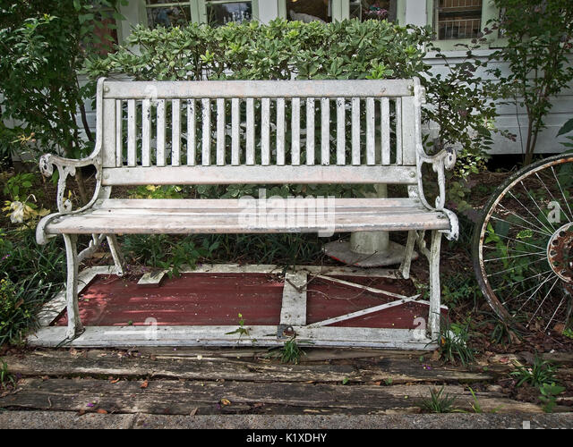Antique garden furniture stock photos antique garden for Outdoor furniture 77386