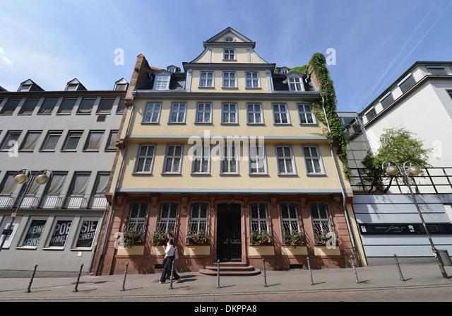 Goethe House Frankfurt Stock s & Goethe House