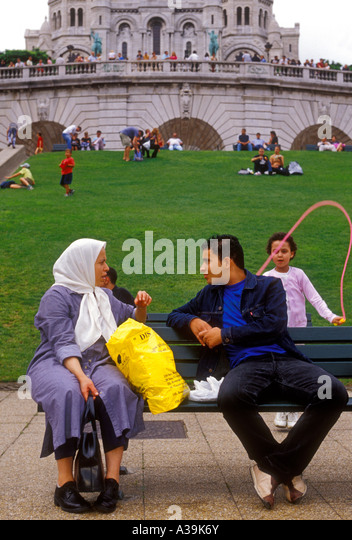 French People Students Lycee Charlemagne Stock Photos: France Muslim Man In Arab Stock Photos & France Muslim Man