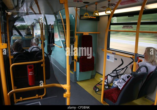 London Bus Interior Stock Photos & London Bus Interior ...