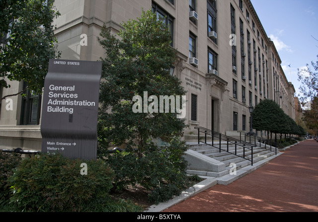 Federal Building Services : General services administration stock photos