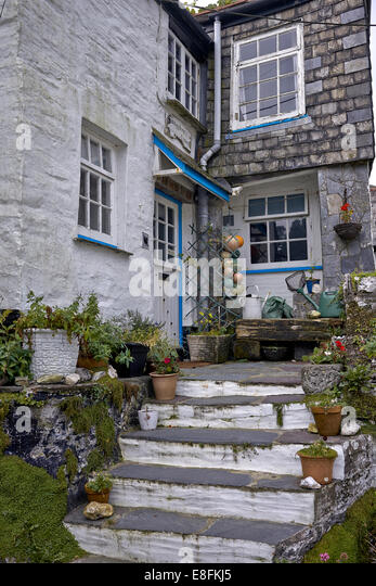 Fishermans cottage cornwall stock photos fishermans cottage cornwall stock images alamy - The fishermans cottage ...