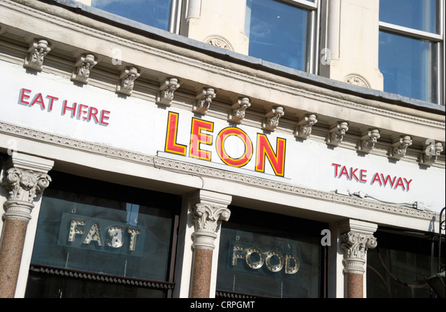 Leon restaurant stock photos