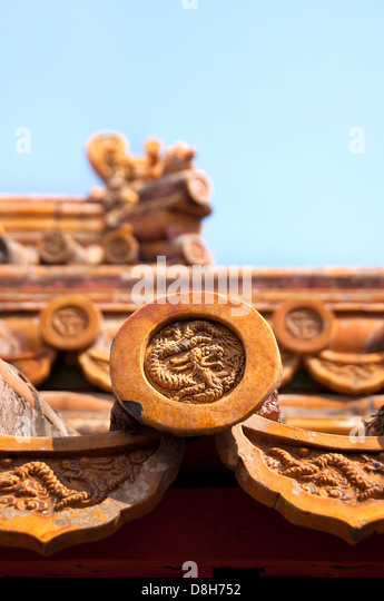 Fortified Roofing Bbb Decorative Roof Tiles Stock Photos