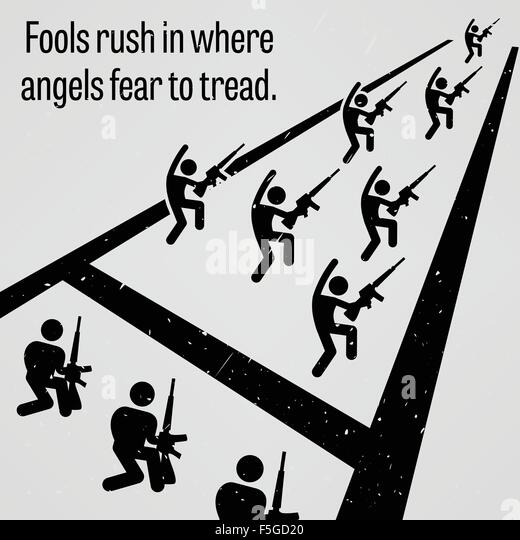 Essay on fools rush in where angels fear to tread