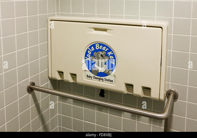 Bathroom Changing Table baby changing table stock photos & baby changing table stock