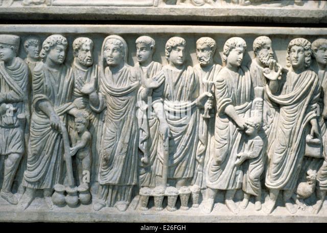 Early Christian Art Roman Stock Photos & Early Christian ...