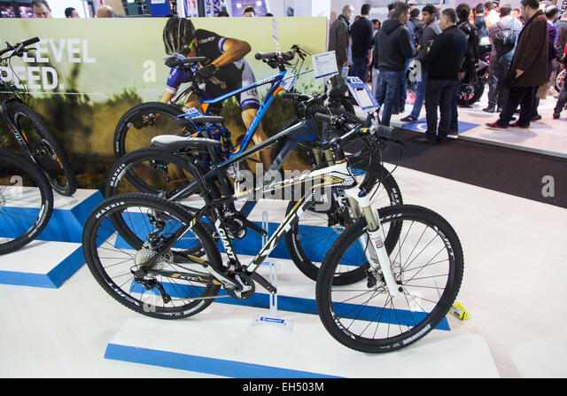 Giant Bikes Eurasia Moto Bike Expo Istanbul Expo Center   Stock Image