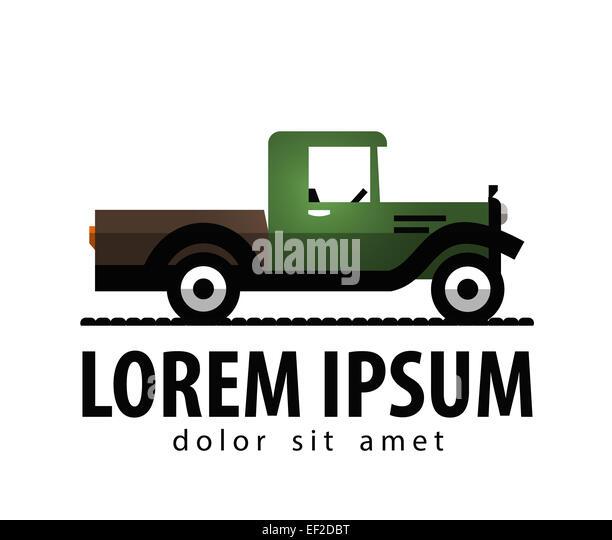 Transport Truck Company Logo Stock Photos & Transport