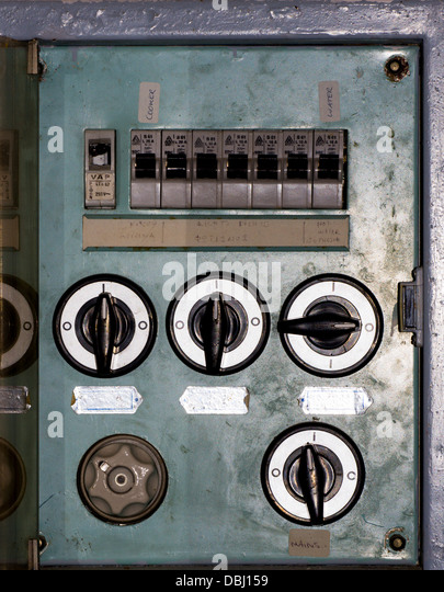 old fuse box stock photos old fuse box stock images alamy old greek fuse box in corfu villa stock image