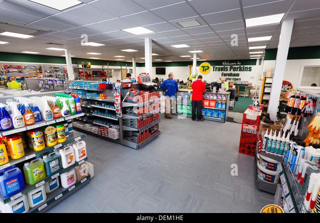 interior of Travis Perkins Builders Merchants shop - Stock Image & Travis Perkins Builders Merchants Stock Photos u0026 Travis Perkins ...
