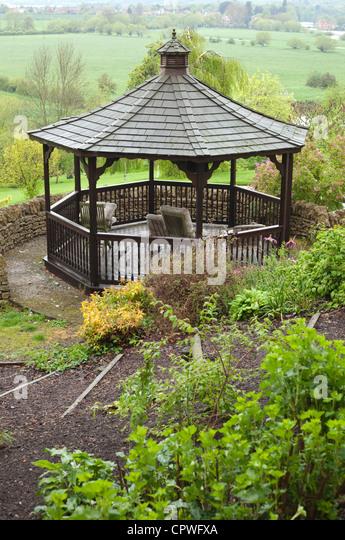 Garden Pagoda, Worcestershire, England, UK   Stock Image