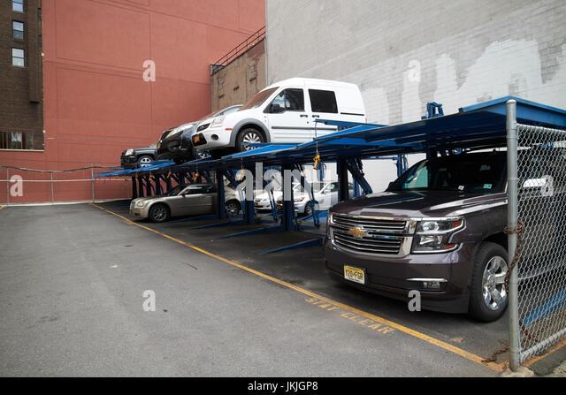 New york parking system stock photos new york parking for Parking garages new york city