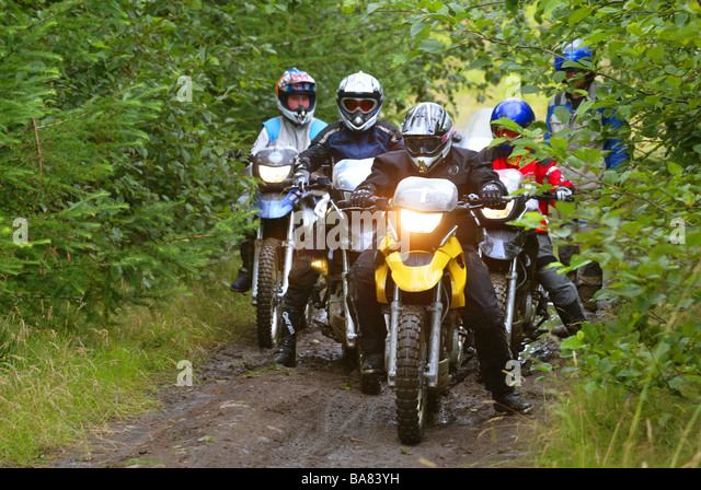 Off Road Motorcycle Training Scotland