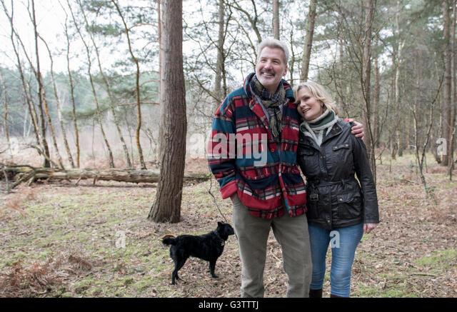 image Yorkshire couple enjoying doggy