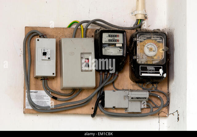 electricity meters and fuse boxes in a church em1cbk uk electricity meter stock photos & uk electricity meter stock fusebox northern powergrid at crackthecode.co