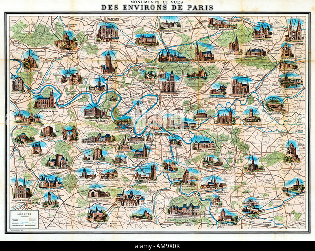 Top Map Of Paris Stock Photos & Map Of Paris Stock Images - Alamy QM18