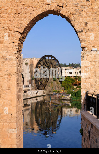hama water wheels Hama is famous for these water wheels, initially built by the romans in what must be one of the most impressive engineering feats i've seen in a while the current turns the wheels which.