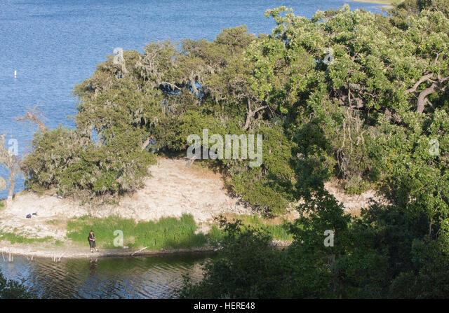 Cachuma lake california stock photos cachuma lake for Cachuma lake fishing