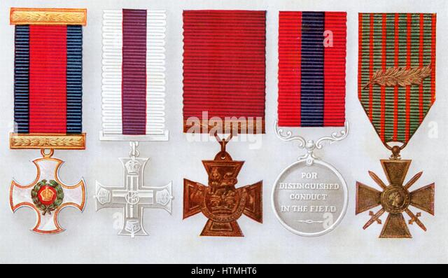 british military decorations left to right distinguished service order military cross victoria - Military Decorations