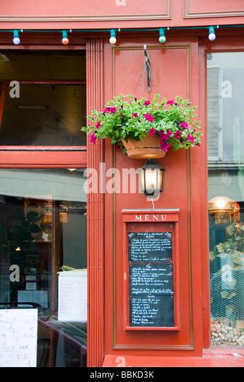Cafe Le Buci Paris Menu