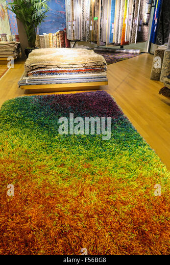 Area Rugs In Macyu0027s Department Store, NYC   Stock Image