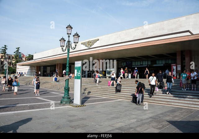 Santa Lucia Railway Station in Venice