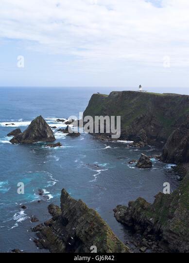 North Lighthouse Fair Isle Scotland Stock Photos & North ...