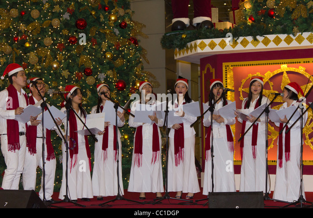 Choir Singing Christmas Stock Photos & Choir Singing Christmas ...