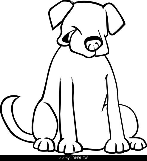 black coated retriever coloring pages - photo#27