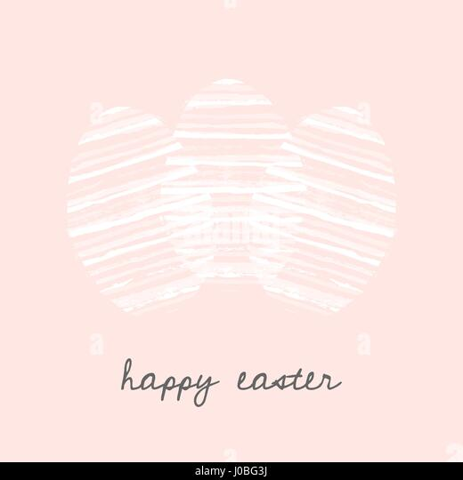 Easter Postcard Template Easter Bunny Card Template Free Download
