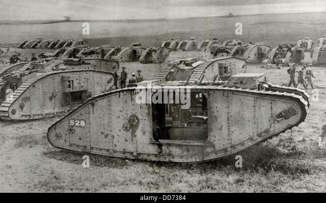 British Tank World War 1 Stock Photos & British Tank World War 1 ...