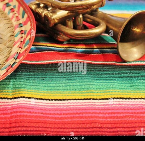 Sombrero Poncho Stock Photos & Sombrero Poncho Stock